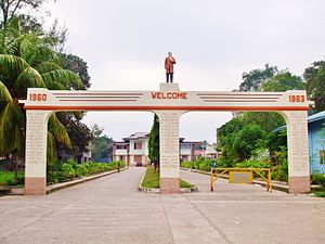 Padada, Davao del Sur - Entrance to Municipal hall