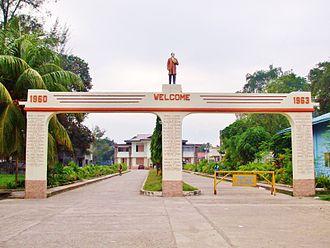 Padada, Davao del Sur - Entrance to Municipal hall
