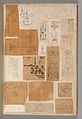 Page from a Scrapbook containing Drawings and Several Prints of Architecture, Interiors, Furniture and Other Objects MET DP372081.jpg