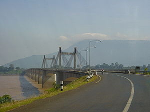 Pakse - Mekong bridge, Pakse