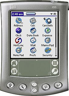 Palm OS mobile operating system