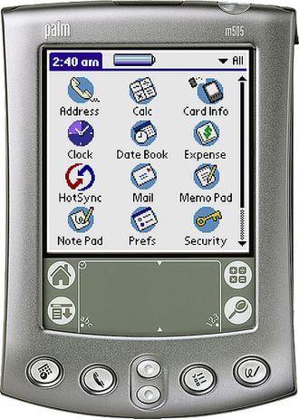 Palm OS - Image: Palm m 505