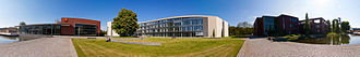 Hasso Plattner Institute - Campus panorama view