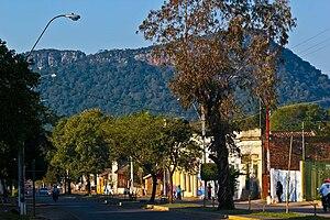 Paraguarí - a street in Paraguarí