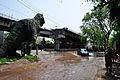 Parama-Park Circus Flyover Under Construction on John Burdon Sanderson Haldane Avenue - Kolkata 2012-05-03 0028.JPG