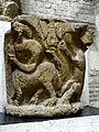 Paris (75), abbaye Saint-Germain-des-Prés, chapiteau envoyé au musée de Cluny.jpg