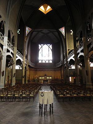 Paul Cottancin - Interior of Saint-Jean-de-Montmartre
