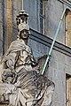 Paris - Les Invalides - Façade nord - Statue de Minerve - PA00088714 - 004.jpg