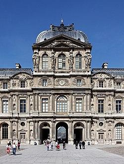 Paris - Palais du Louvre - Pavillon de l'Horloge 001.jpg