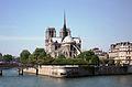Paris Ile de La Cité and Notre Dame as Great Boat on the River.jpg