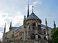 Paris Notre-Dame cathedral exterior apse 20110506 (2).jpg