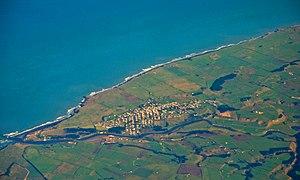 Patea - Aerial view
