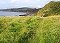 Path on the cliff top at Killantringan Bay - geograph.org.uk - 1400182.jpg