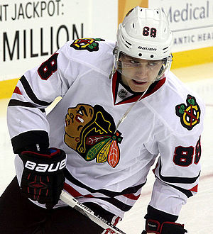 Patrick Kane - Kane with the Chicago Blackhawks in December 2014