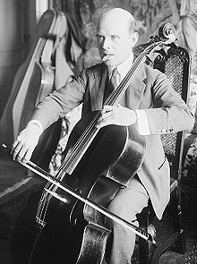 O musico, compositor y director d'orquesta catalán Pau Casals.
