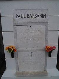 Paul Barbarin Tomb.jpg