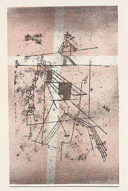 Paul Klee Seiltänzer 1923