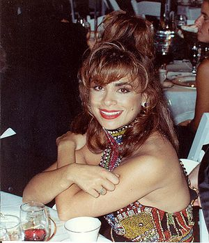 Paula Abdul - Abdul at the 42nd Primetime Emmy Awards, 1990