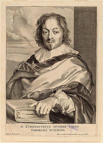 Paulus Pontius - Portrait of Constantijn Huygens - WGA18071