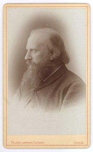 Pavel Viskovatov - 1892 photo