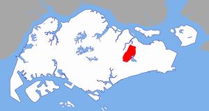 Paya Lebar - Image: Paya Lebar Planning Area locator map
