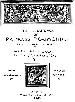 The Pedlar's Pack - The Necklace Of Princess Firmonde; And Other Stories by Mary De Morgan