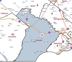 Chester County Pennsylvania Wikipedia