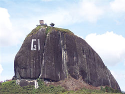 El Penol - The Guatape 'G'
