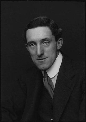 Percy Bates - :Percy Bates, 1913 photograph