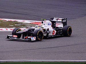 2012 Chinese Grand Prix - Sergio Pérez