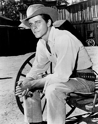 Peter Brown (actor) - Brown as Deputy Johnny McKay in the television series Lawman (1959)