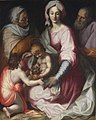 Peter Candid - The Holy Family with Saint Elizabeth and the Infant Saint John.jpg