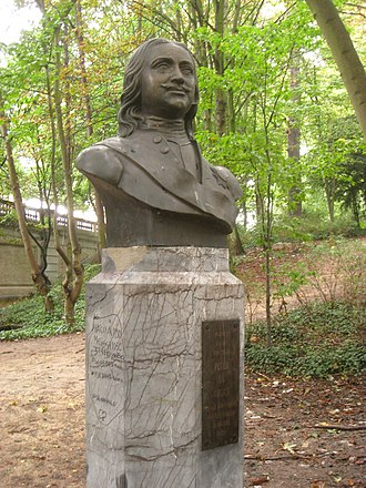 Brussels Park - Image: Peter I monument in Brussels Park IMG 3788