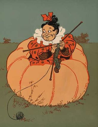 Peter Peter Pumpkin Eater - One of Peter's wives, according to Denslow