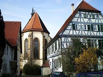 Weilheim an der Teck - Pfarrhaus3