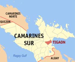 Tigaon, Camarines Sur - Wikipedia