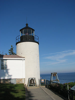Bass Harbor Head Light - Image: Phare Bass Harbor