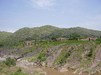 Gakhars - Panoramic view of Pharwala Fort, traditional seat of the Gakhar Clan
