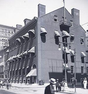 Philadelphia Club - The Philadelphia Club in 1916.