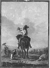 Falkenier zu Pferde (Kopie nach)