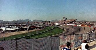ISM Raceway - Phoenix Raceway in 1989