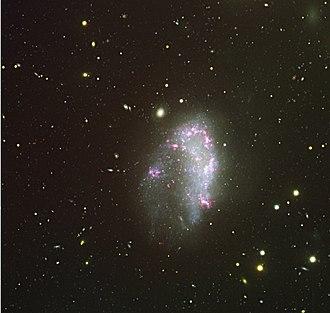 NGC 1427A - The Irregular Galaxy NGC 1427A. Credit ESO