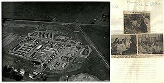 Pahiatua - Formerly the racecourse, the camp in 1944