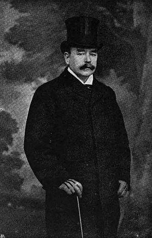 William Hurrell Mallock - Mallock, by Elliott & Fry.