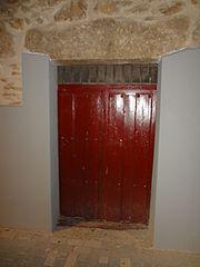 Photography by David Adam Kess, España, Aranda de Duero, Hand Carved Wooden Door, pic.bbb2.jpg