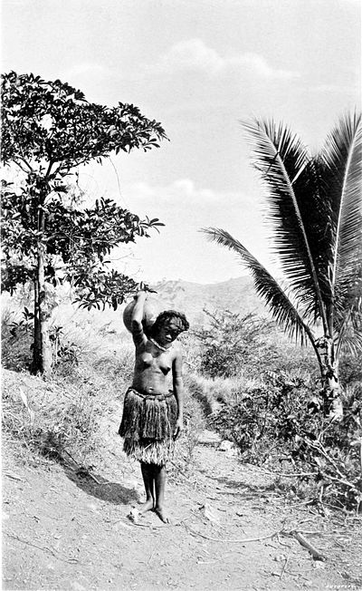 Picturesque New Guinea Plate I - Motu Water Carrier, Port Moresby.jpg