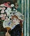 Pierre-Auguste Renoir - Jeune Fille avec un éventail.jpg