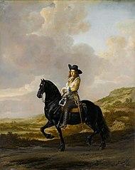 Pieter Schout on Horseback