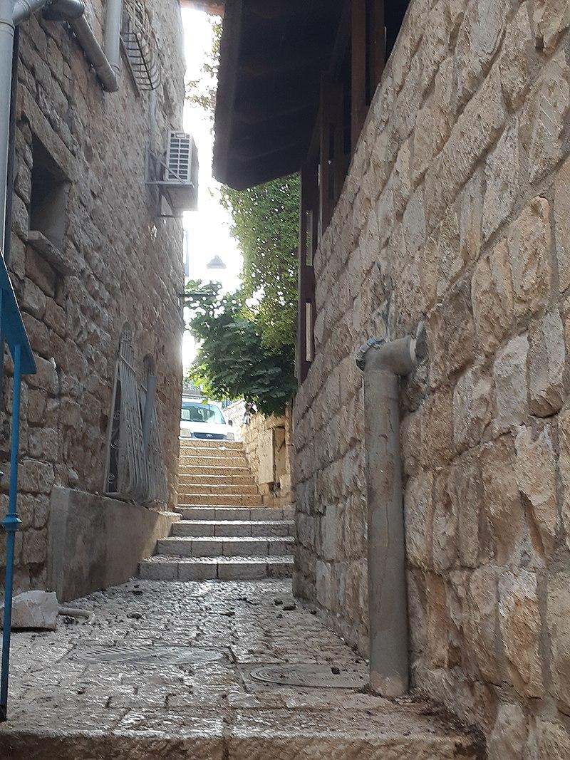 סימטה אופיינית ברובע היהודי