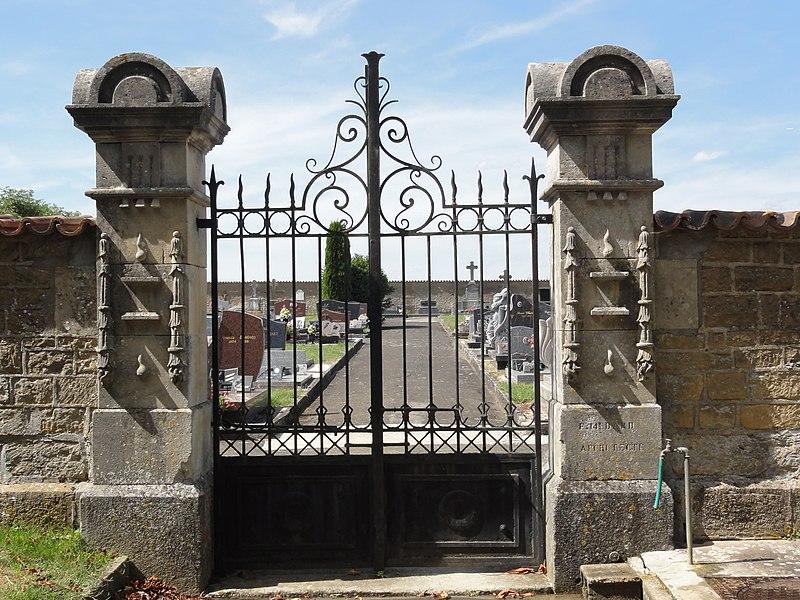 Pillon (Meuse) cimetière
